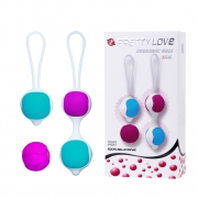 Kegel balls,  one ball, two balls, and extra ball for replac
