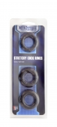 MENZSTUFF STRETCHY COCK RINGS SMOKE T